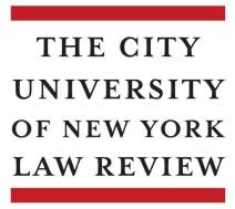 City University of New York Law Review logo